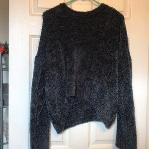 Rewind brand fuzzy chenille sweater